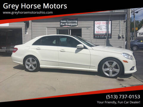 2010 Mercedes-Benz E-Class for sale at Grey Horse Motors in Hamilton OH