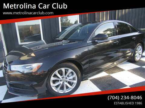 2017 Audi A6 for sale at Metrolina Car Club in Matthews NC