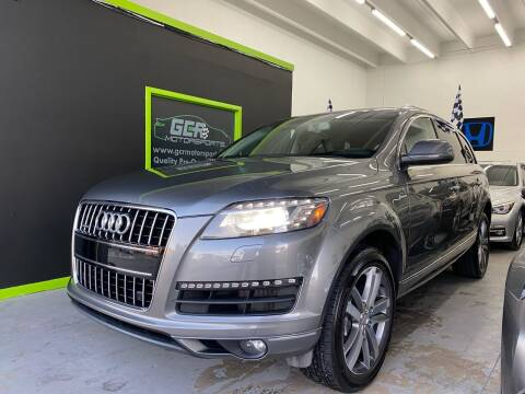 2014 Audi Q7 for sale at GCR MOTORSPORTS in Hollywood FL