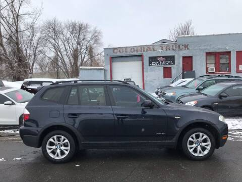 2009 BMW X3 for sale at Dan's Auto Sales and Repair LLC in East Hartford CT
