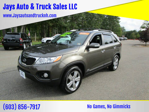 2012 Kia Sorento for sale at Jays Auto & Truck Sales LLC in Loudon NH