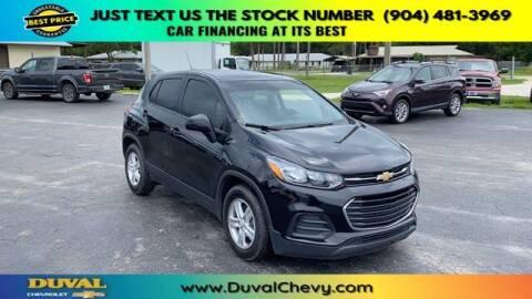 2019 Chevrolet Trax for sale at Duval Chevrolet in Starke FL