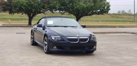2010 BMW 6 Series for sale at America's Auto Financial in Houston TX