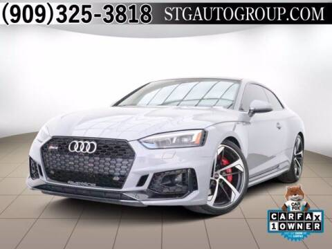2018 Audi RS 5 for sale at STG Auto Group in Montclair CA