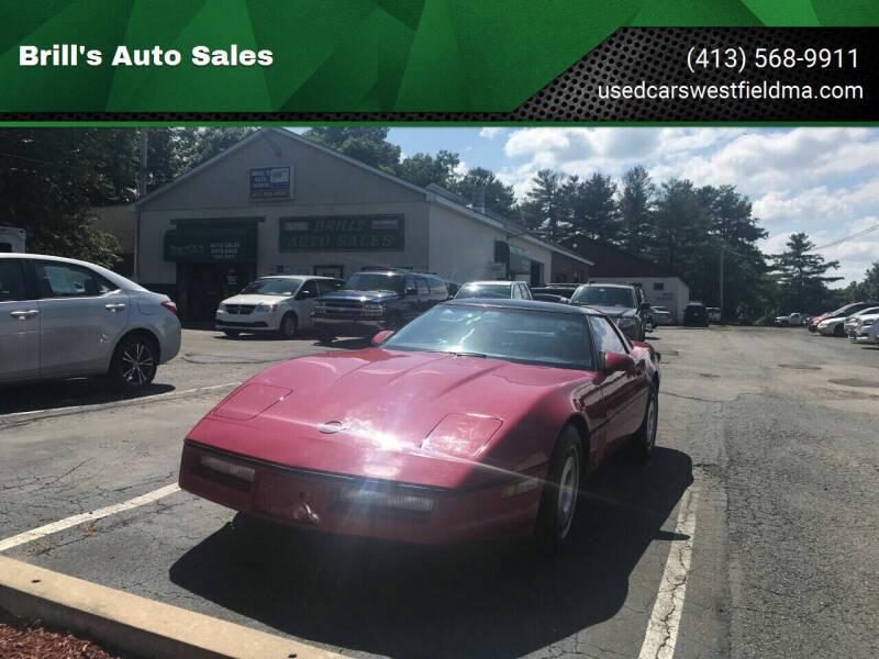 1987 Chevrolet Corvette for sale at Brill's Auto Sales in Westfield MA