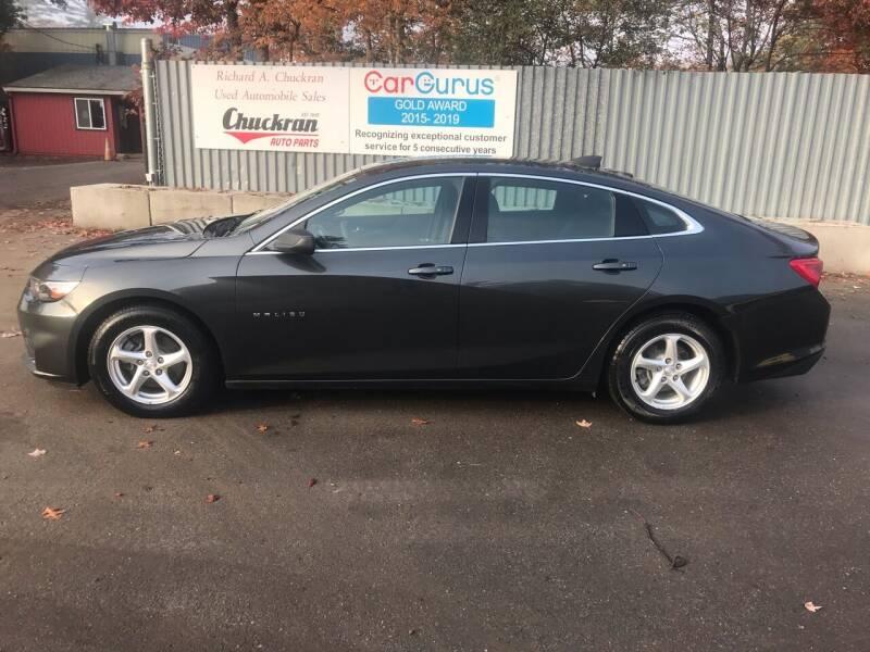2017 Chevrolet Malibu for sale at Chuckran Auto Parts Inc in Bridgewater MA
