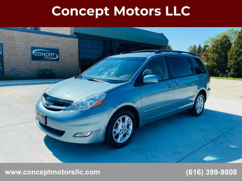 2009 Toyota Sienna for sale at Concept Motors LLC in Holland MI