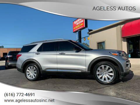 2020 Ford Explorer Hybrid for sale at Ageless Autos in Zeeland MI