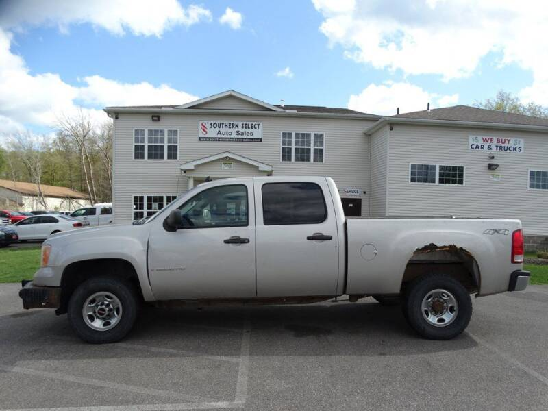 2008 GMC Sierra 2500HD for sale at SOUTHERN SELECT AUTO SALES in Medina OH