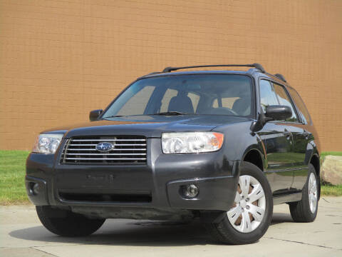 2008 Subaru Forester for sale at Autohaus in Royal Oak MI