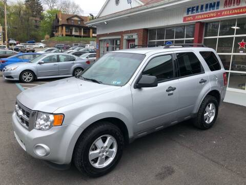 2010 Ford Escape for sale at Fellini Auto Sales & Service LLC in Pittsburgh PA