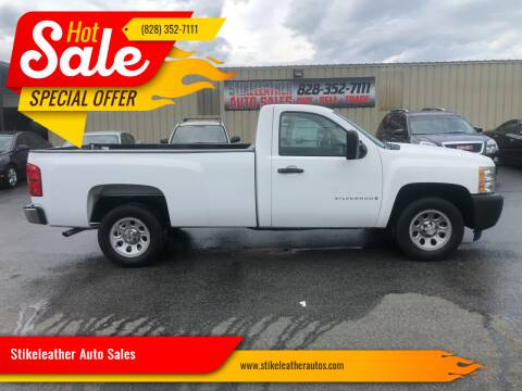 2008 Chevrolet Silverado 1500 for sale at Stikeleather Auto Sales in Taylorsville NC