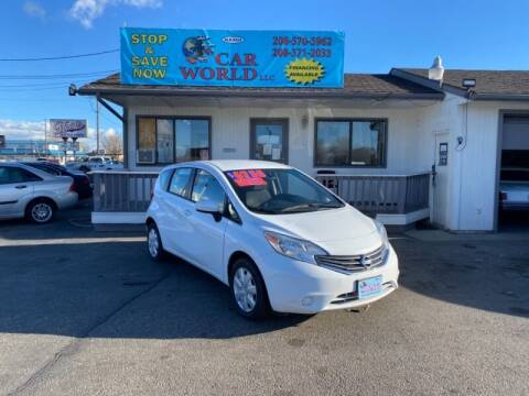 2016 Nissan Versa Note for sale at CAR WORLD in Nampa ID