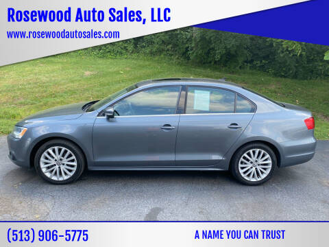 2014 Volkswagen Jetta for sale at Rosewood Auto Sales, LLC in Hamilton OH
