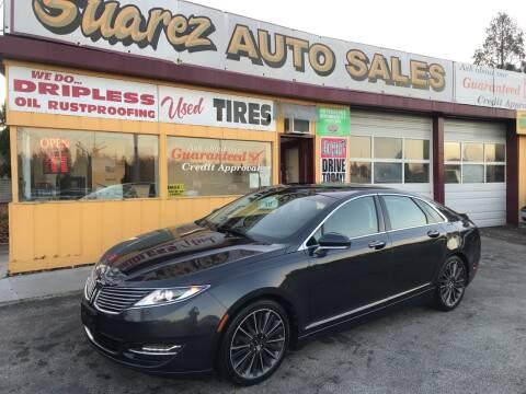 2013 Lincoln MKZ for sale at Suarez Auto Sales in Port Huron MI