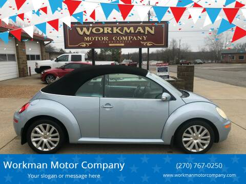 2009 Volkswagen New Beetle Convertible for sale at Workman Motor Company in Murray KY