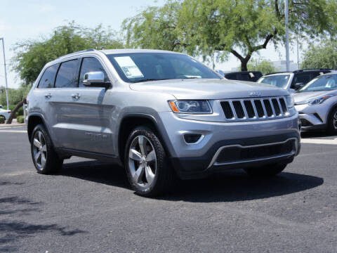2015 Jeep Grand Cherokee for sale at CarFinancer.com in Peoria AZ