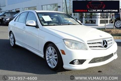 2008 Mercedes-Benz C-Class for sale at Used Imports Auto - Virginia Luxury Motors in Chantilly GA