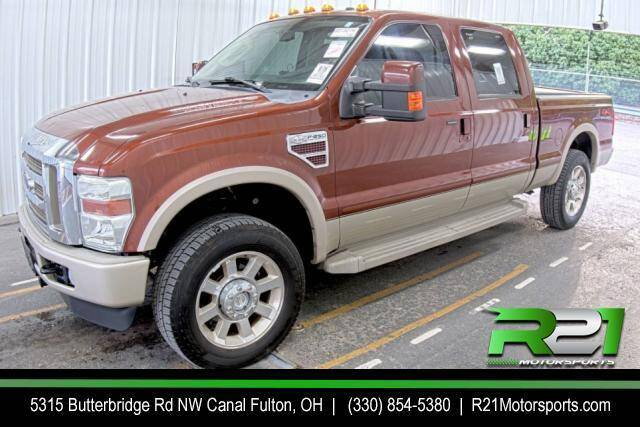 2008 Ford F-250 Super Duty for sale at Route 21 Auto Sales in Canal Fulton OH