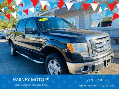 2011 Ford F-150 for sale at HARNEY MOTORS in Gettysburg PA
