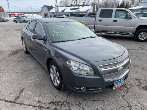 2008 Chevrolet Malibu for sale at Peter Kay Auto Sales in Alden NY