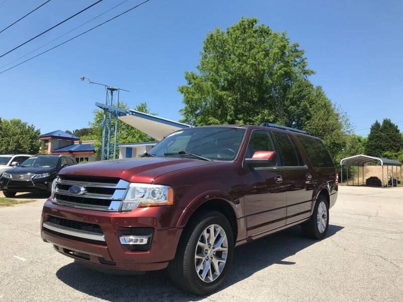 2015 Ford Expedition EL for sale at GR Motor Company in Garner NC
