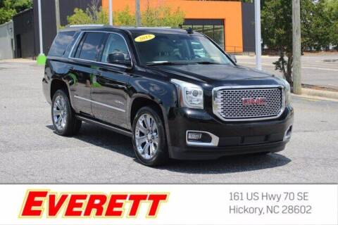 2015 GMC Yukon for sale at Everett Chevrolet Buick GMC in Hickory NC
