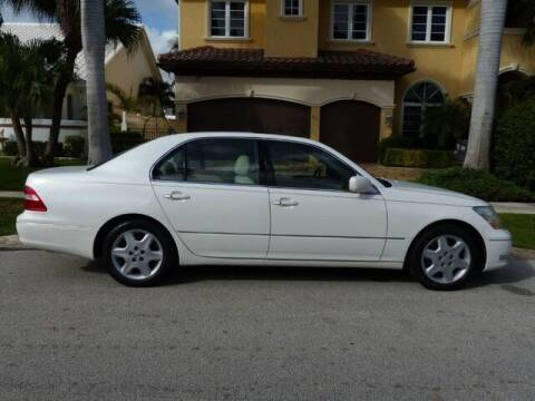 2004 Lexus LS 430 for sale at Lifetime Automotive Group in Pompano Beach FL