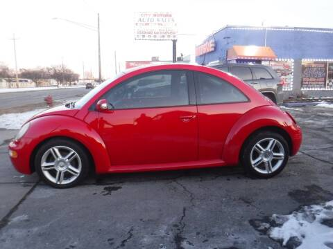 2005 Volkswagen New Beetle for sale at City Motors Auto Sale LLC in Redford MI
