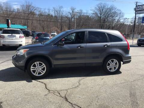 2010 Honda CR-V for sale at M G Motors in Johnston RI
