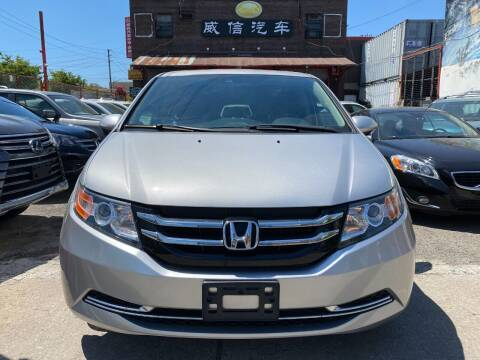 2015 Honda Odyssey for sale at TJ AUTO in Brooklyn NY