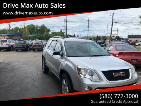 2012 GMC Acadia for sale at Drive Max Auto Sales in Warren MI