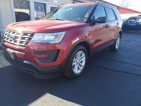 2017 Ford Explorer for sale at Bailey Family Auto Sales in Lincoln AR