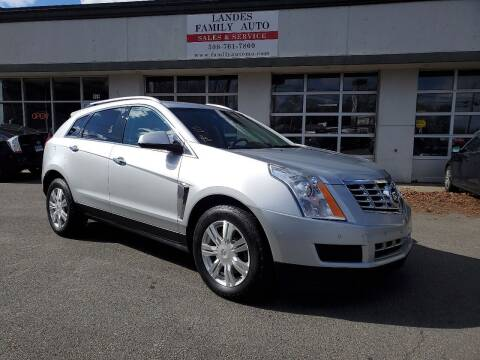 2014 Cadillac SRX for sale at Landes Family Auto Sales in Attleboro MA
