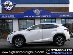 2018 Lexus NX 300 for sale at Highline Group Motorsports in Lowell MA