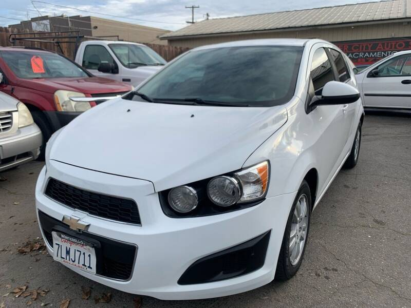 2015 Chevrolet Sonic for sale at River City Auto Sales Inc in West Sacramento CA