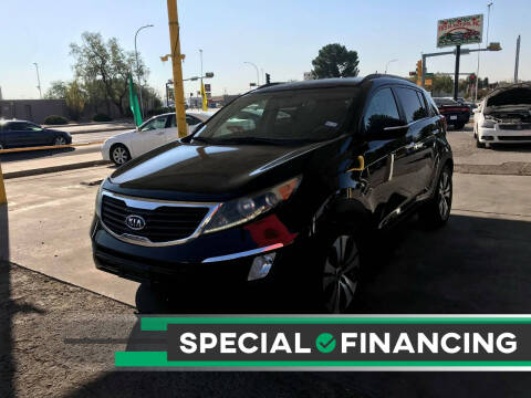 2012 Kia Sportage for sale at Fiesta Motors Inc in Las Cruces NM