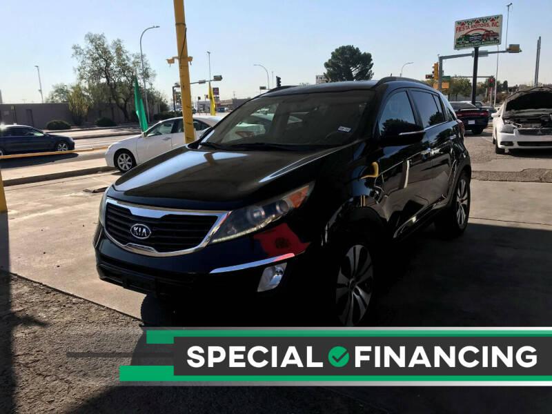 2012 Kia Sportage for sale at Fiesta Motors Inc in Las Cruces NM