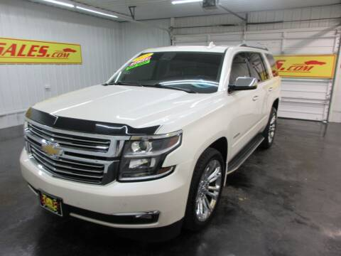 2015 Chevrolet Tahoe for sale at G and S Auto Sales in Ardmore TN