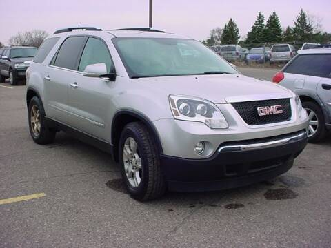 2008 GMC Acadia for sale at VOA Auto Sales in Pontiac MI