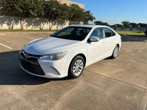 2016 Toyota Camry for sale at Pitt Stop Detail & Auto Sales in College Station TX