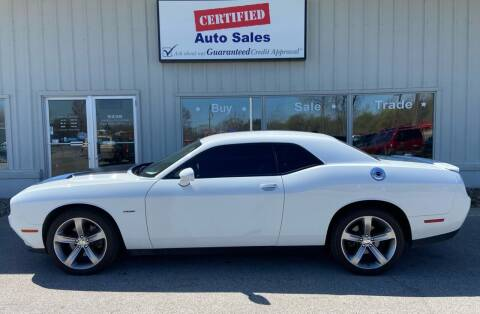 2015 Dodge Challenger for sale at Certified Auto Sales in Des Moines IA