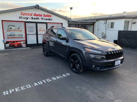 2016 Jeep Cherokee for sale at Speed Auto Sales in El Cajon CA