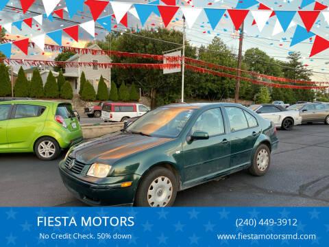 2000 Volkswagen Jetta for sale at FIESTA MOTORS in Hagerstown MD