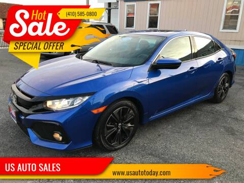 2017 Honda Civic for sale at US AUTO SALES in Baltimore MD