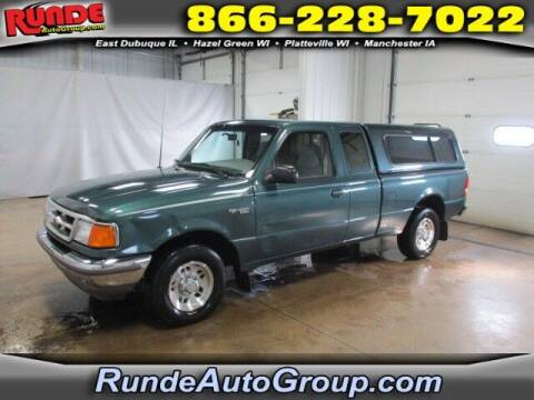 1996 Ford Ranger for sale at Runde Chevrolet in East Dubuque IL
