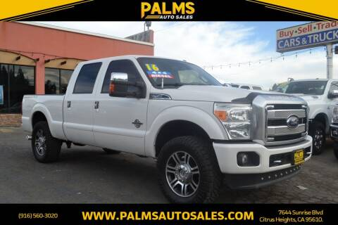 2016 Ford F-250 Super Duty for sale at Palms Auto Sales in Citrus Heights CA