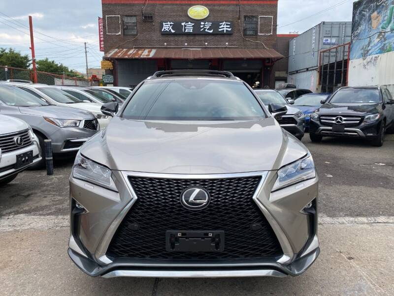 2017 Lexus RX 350 for sale at TJ AUTO in Brooklyn NY