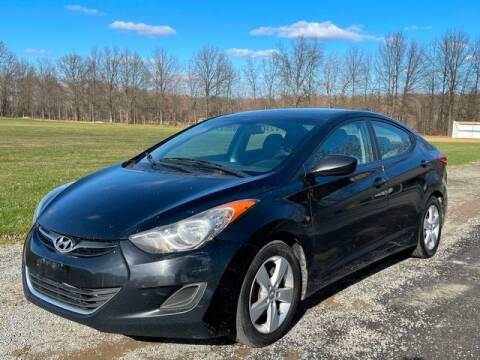2011 Hyundai Elantra for sale at GOOD USED CARS INC in Ravenna OH