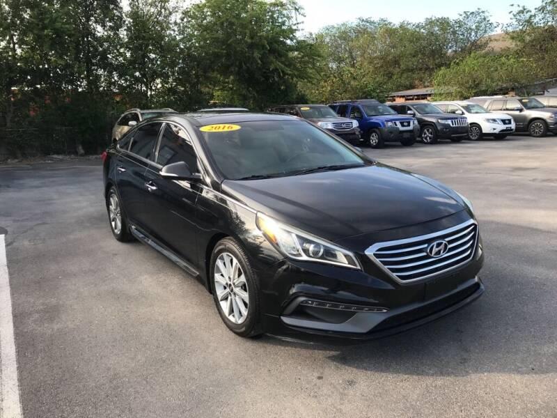 2016 Hyundai Sonata for sale at Auto Solution in San Antonio TX